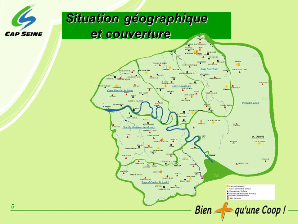5 Situation géographique et couverture