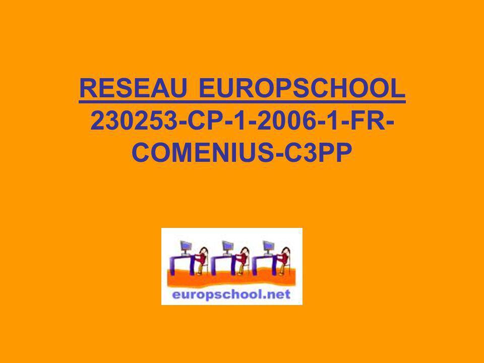 Le réseau Europschool a pour but de créer une plate forme commune de coopération européenne au niveau de lenseignement pré scolaire et primaire pour réfléchir à une recherche action sur « comment améliorer la préparation à vivre dès le plus jeune âge linter culturalité, quelle formation des maîtres, quelles pratiques pédagogiques ».