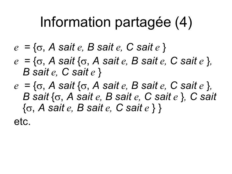 e = {, A sait e, B sait e, C sait e } e = {, A sait {, A sait e, B sait e, C sait e }, B sait e, C sait e } e = {, A sait {, A sait e, B sait e, C sait e }, B sait {, A sait e, B sait e, C sait e }, C sait {, A sait e, B sait e, C sait e } } etc.