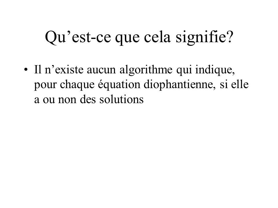 Définir une « méthode de calcul » Venons-en au deuxième objectif : définir précisément ce quon entend par méthode de calcul ou algorithme