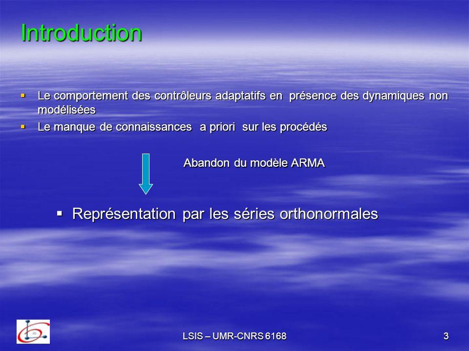 LSIS – UMR-CNRS 616814 Le théorème permet de déduire la variation de p.
