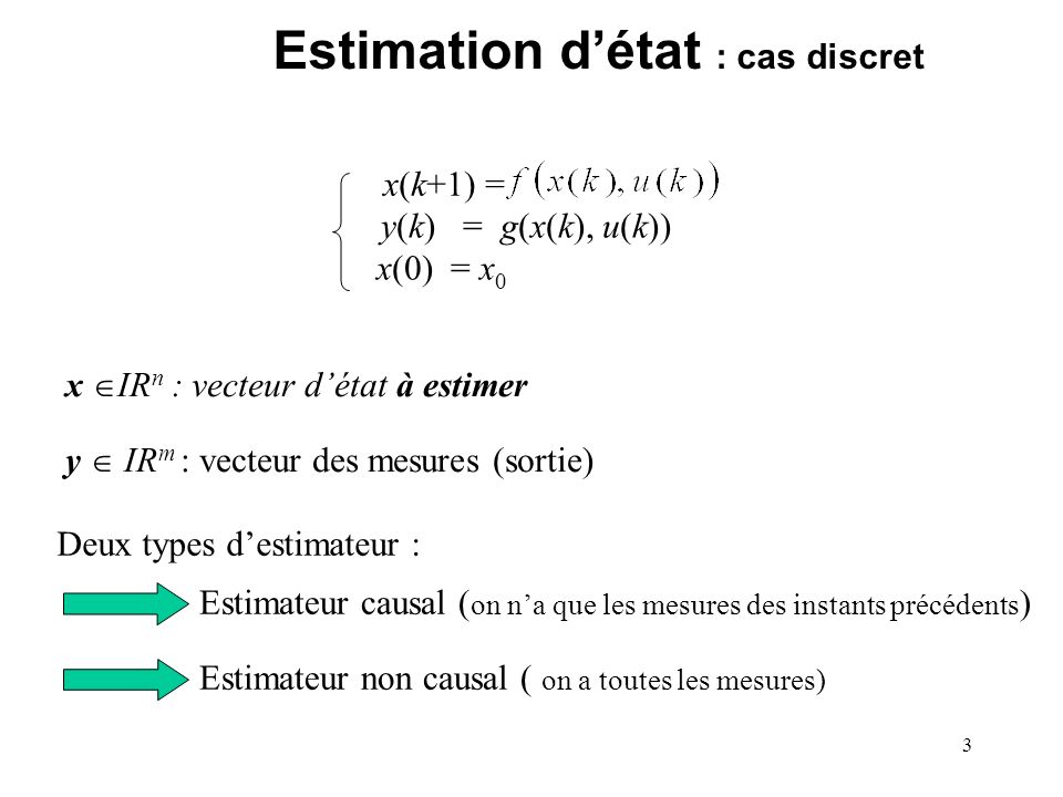 4 Estimateur causal (Jaulin et al.