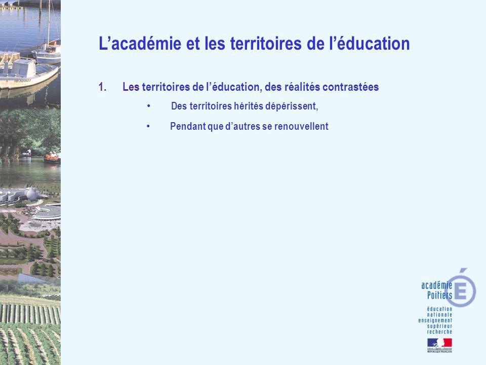 Lexemple de la Charente-maritime