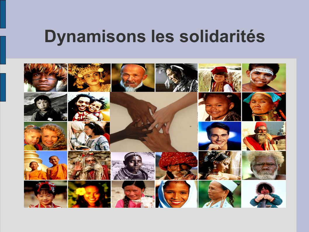 Dynamisons les solidarités