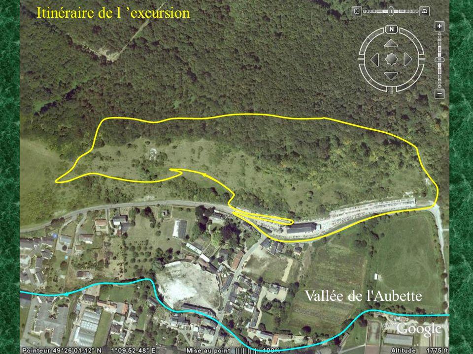 Itinéraire de l excursion Vallée de l Aubette