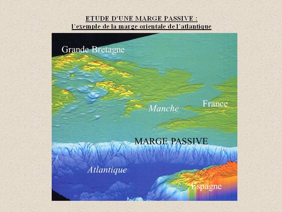 Profil de sismique réflexion de la marge sud-armoricaine (cf.