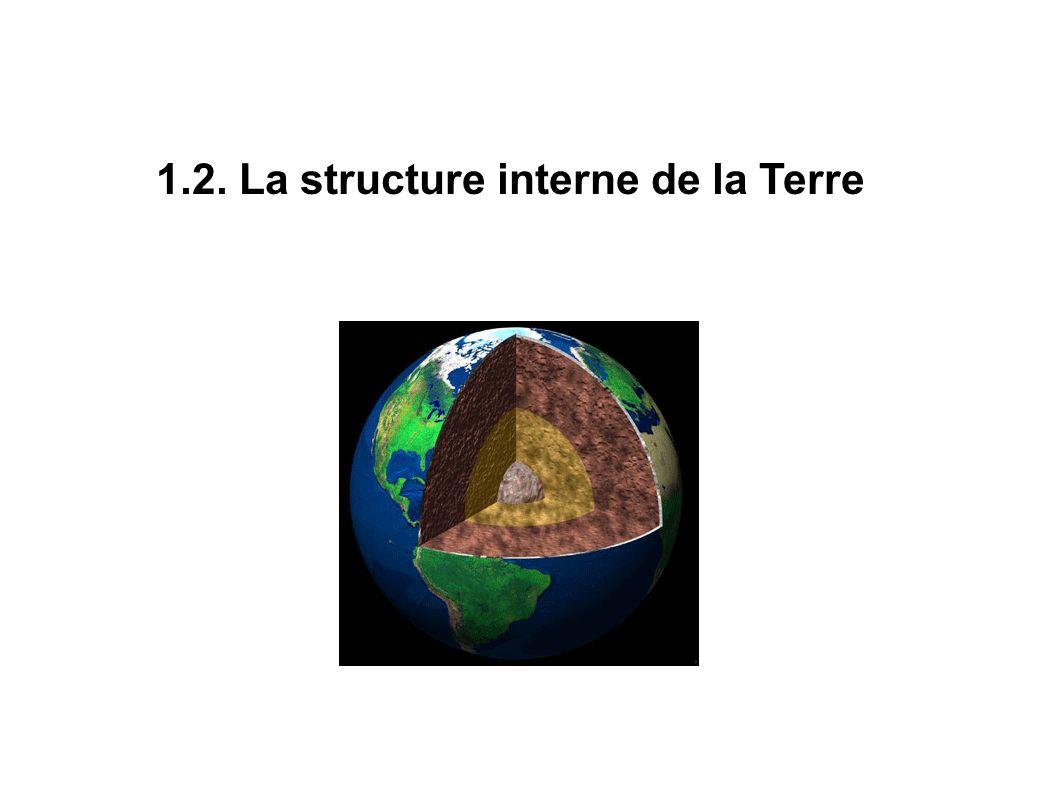 1.2. La structure interne de la Terre