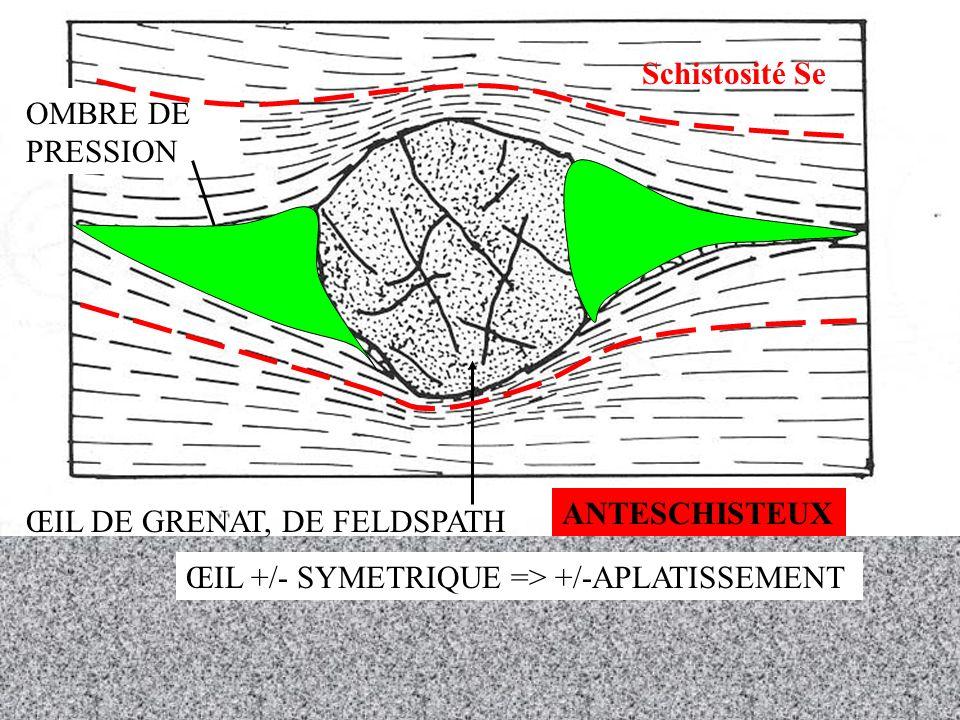 LA GEOLOGIE GRÂCE AUX PIERRES TOMBALES… ANATEXIE CRUSTALE =>MIGMATITE MELANOSOME (restite) A TEXTURE ORIENTEE RICHE EN MINERAUX PEU FUSIBLES (MICAS NOIRS) LEUCOSOME A TEXTURE NON ORIENTEE DE COMPOSITION GRANITIQUE