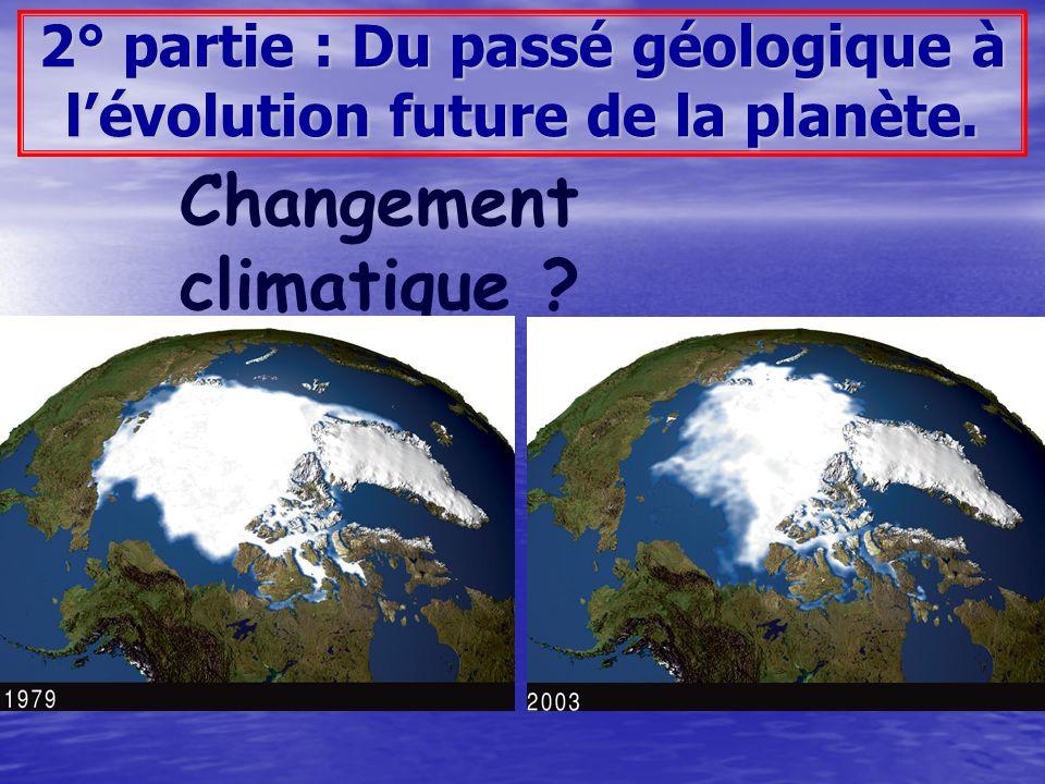 Quels sont les moyens de connaître les climats du passé .