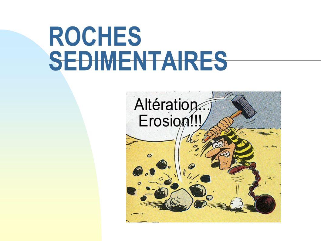 ROCHES SEDIMENTAIRES
