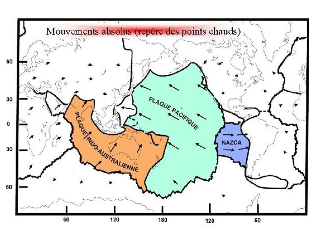 MECANISMES AU FOYER DANS LA ZONE DE SUBDUCTION DES RYUKYU (nord-ouest de la plaque Philippine s enfonçant sous la plaque eurasiatique) Vue cartographique (mécanismes au foyer en projection sur un plan horizontal)