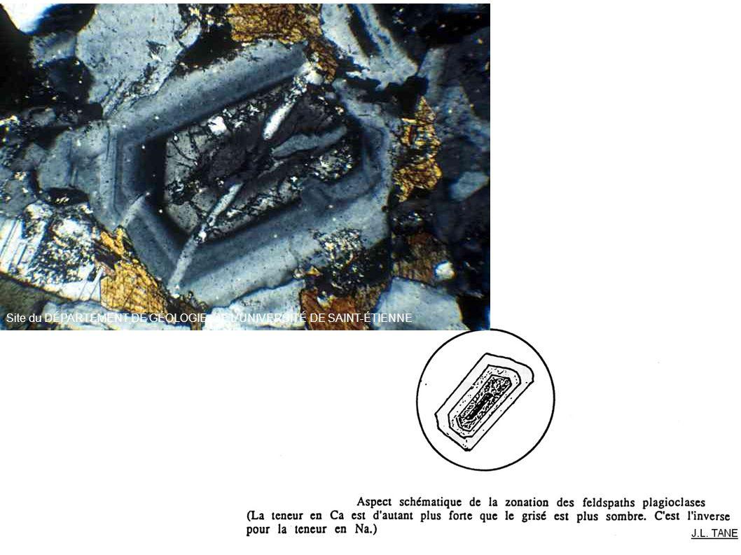 Site du DÉPARTEMENT DE GÉOLOGIE DE L UNIVERSITÉ DE SAINT-ÉTIENNE