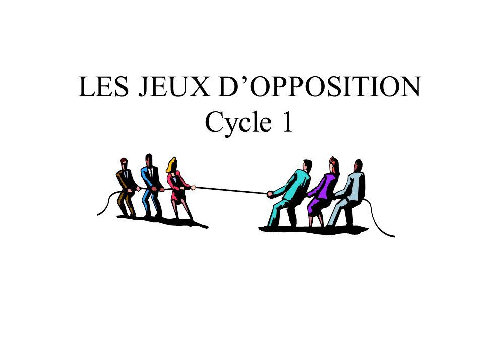 LES JEUX DOPPOSITION Cycle 1