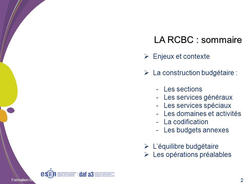 Formation RCBC DAF/Esen - octobre 2011 Des vérifications et opérations préalables en comptabilité générale Afin de simplifier la gestion de la transition vers les amortissements, il faut avoir un inventaire à jour et pertinent.