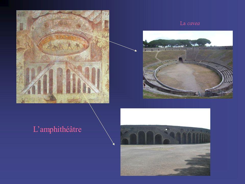 Lamphithéâtre La cavea
