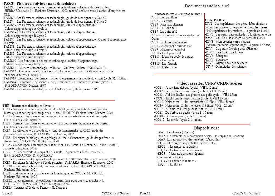 FAMS - Fichiers dactivités / manuels scolaires : FAMS2 - Les savoirs de lécole, Sciences et technologie, collection dirigée par Jean HEBRARD, (cycle 3