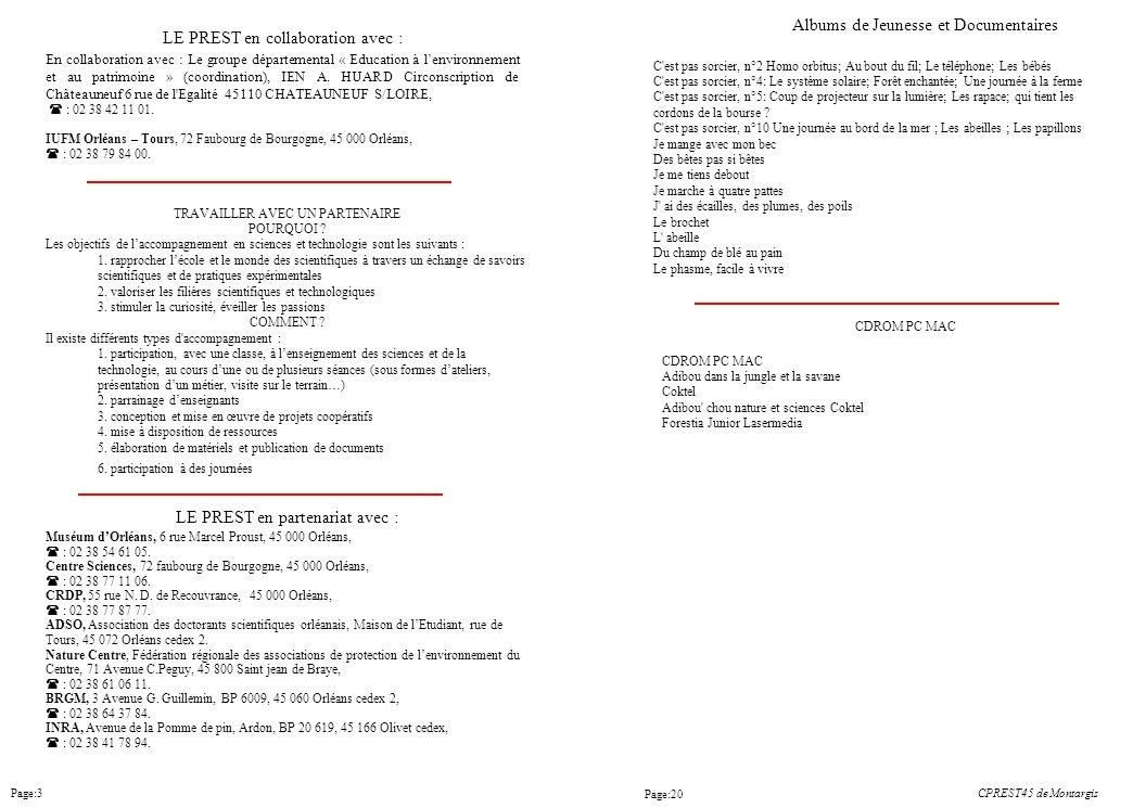 Page:3 C'est pas sorcier, n°2 Homo orbitus; Au bout du fil; Le téléphone; Les bébés C'est pas sorcier, n°4: Le système solaire; Forêt enchantée; Une j