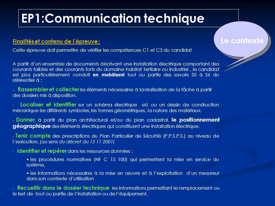 Établissements habilités Établissements non habilités Épreuves EP1:Communication technique EP2: Réalisation EG1:Français et histoire-géographie EG2:Ma