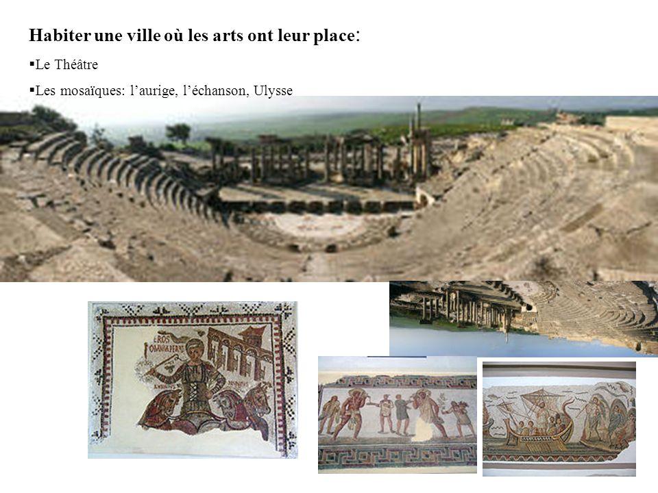 Habiter une ville où les arts ont leur place : Le Théâtre Les mosaïques: laurige, léchanson, Ulysse