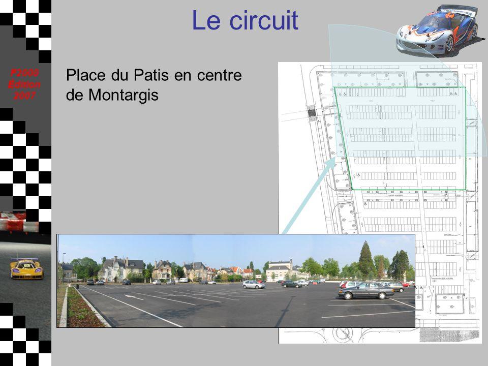 F2000 Édition 2007 Le circuit Place du Patis en centre de Montargis