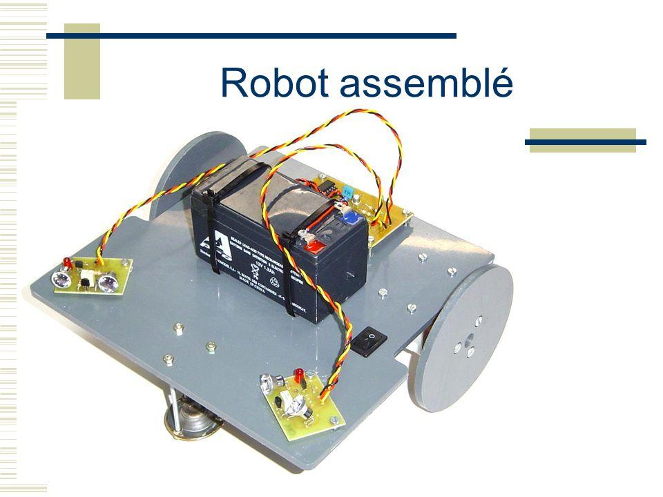 Robot assemblé