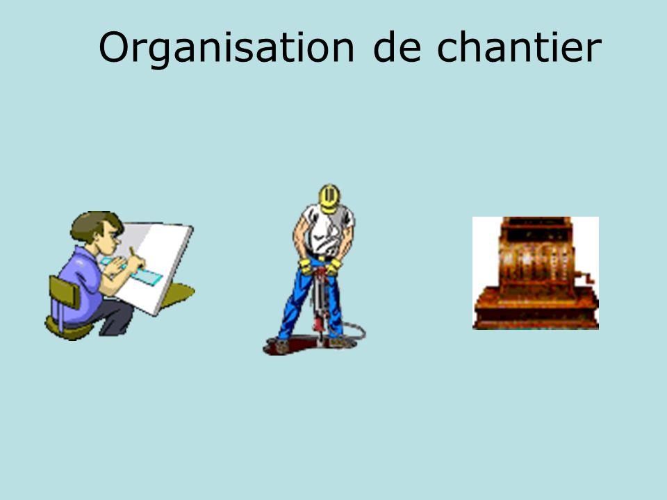 Organisation de chantier