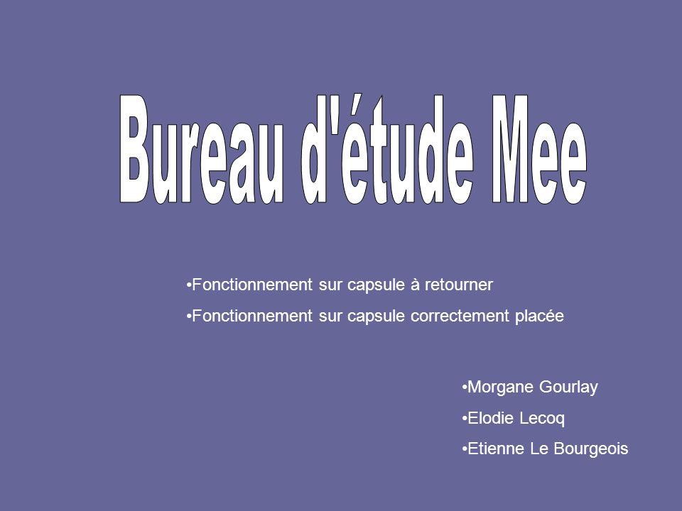 Fonctionnement sur capsule à retourner Fonctionnement sur capsule correctement placée Morgane Gourlay Elodie Lecoq Etienne Le Bourgeois