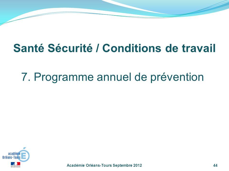 Académie Orléans-Tours Septembre 201244 7.