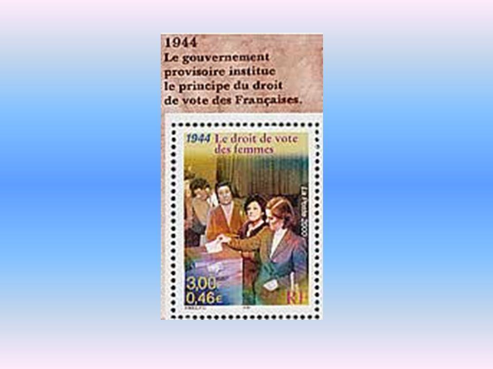 Une timide entrée vers lécole 1919 : création du baccalauréat féminin.