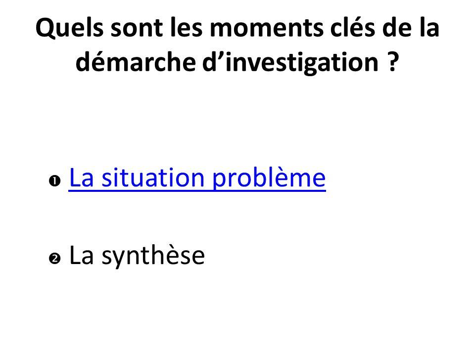 Synthèse de fin de séquence (Synthèse passive) Bilans de fin de séance (Synthèse active)