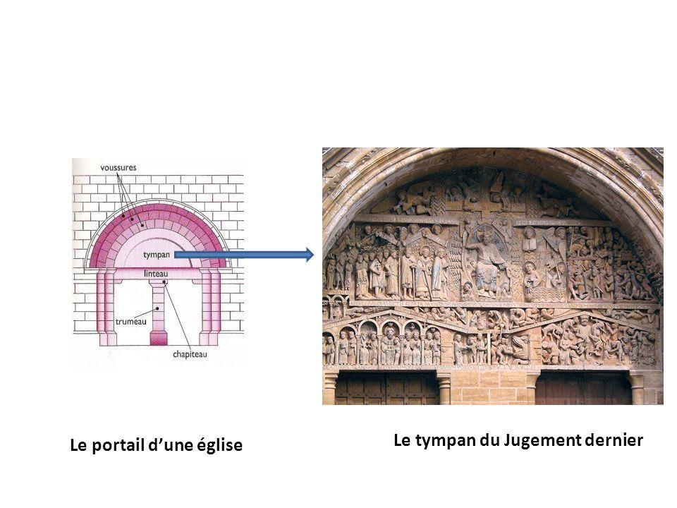 Le tympan du Jugement dernier Le portail dune église