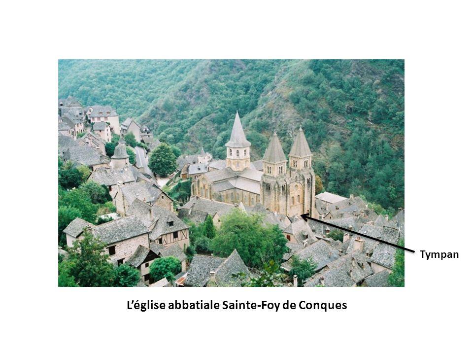 Léglise abbatiale Sainte-Foy de Conques Tympan