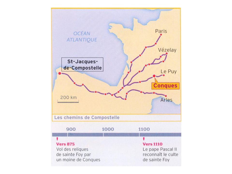 Léglise abbatiale Sainte-Foy de Conques