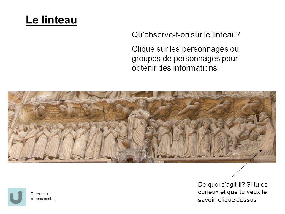 Au centre: Larchange Michel, qui procède à la pesée des bonnes et mauvaises actions des jugés.
