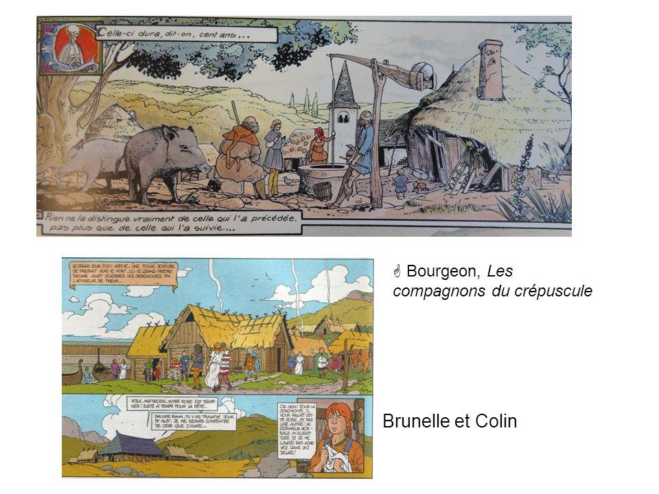 Bourgeon, Les compagnons du crépuscule Brunelle et Colin