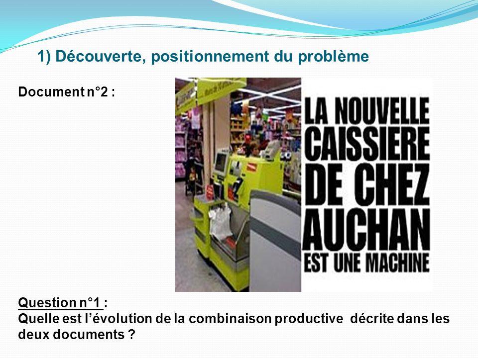 2) Lorsquils ont le choix entre une machine et des salariés, les chefs dentreprise choisissent-ils toujours la machine .
