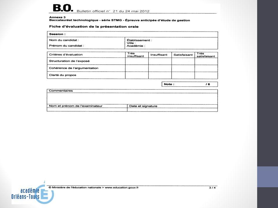 Létude de gestion Les textes - Déroulement de lépreuve Les annexes 1, 2, et 3 ont le statut de copie dexamen.