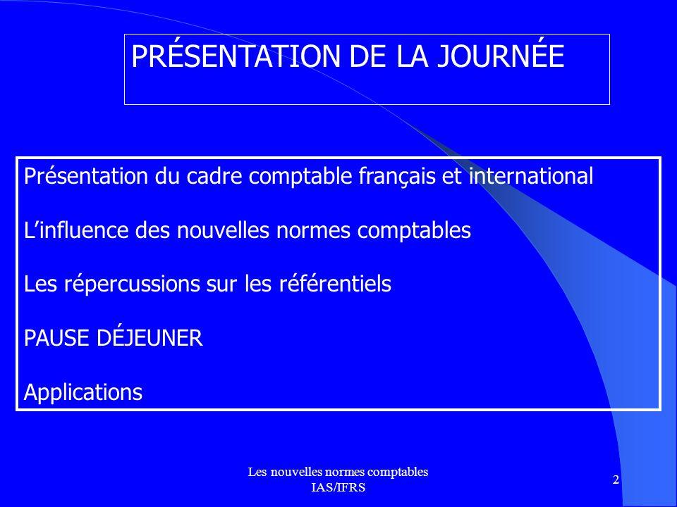 Les nouvelles normes comptables IAS/IFRS 3 LE MONDE DIPLOMATIQUE (Novembre 2005.Jacques Richard)
