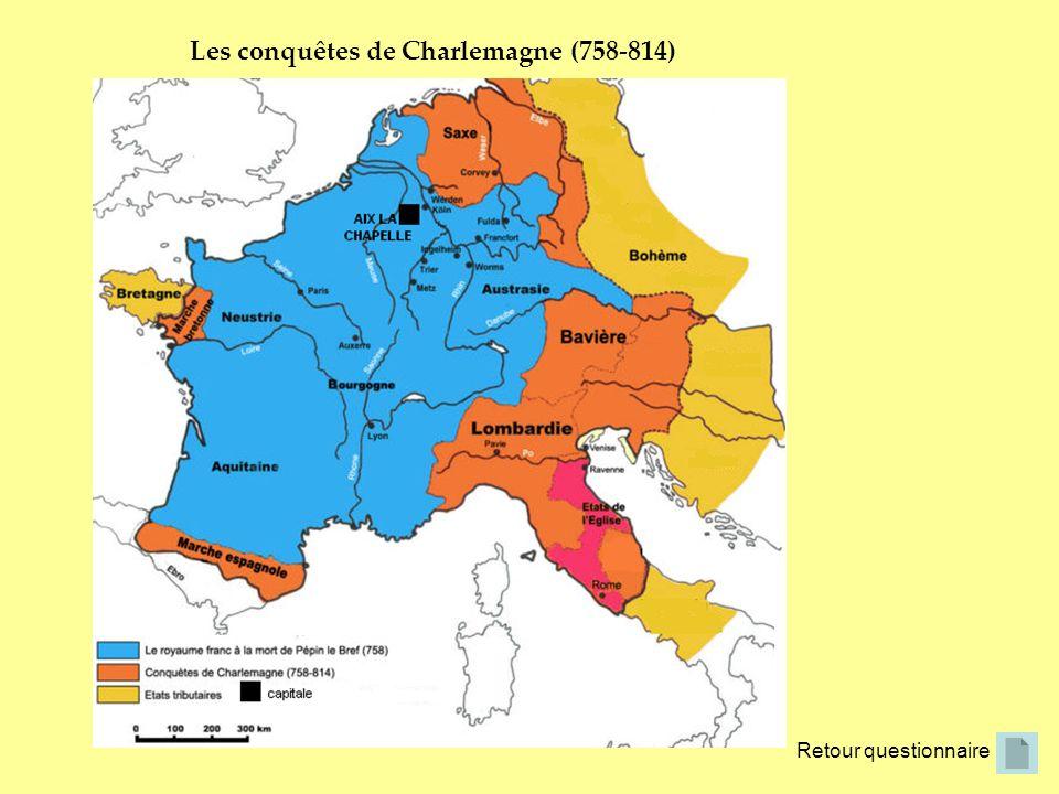 Les conquêtes de Charlemagne (758-814)