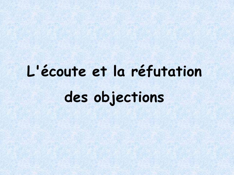 Sommaire Les objections Les objections - pourquoi .