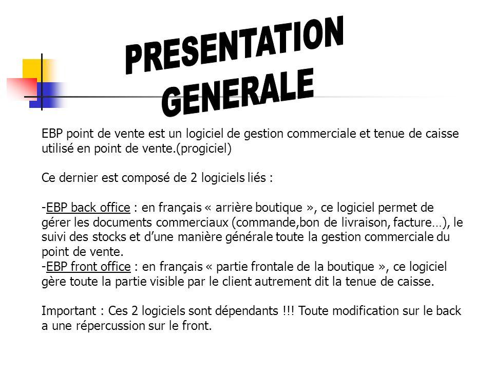 Les menus principaux de lapplication 1°) Dossier Le menu dossier : Les préférences du dossier :