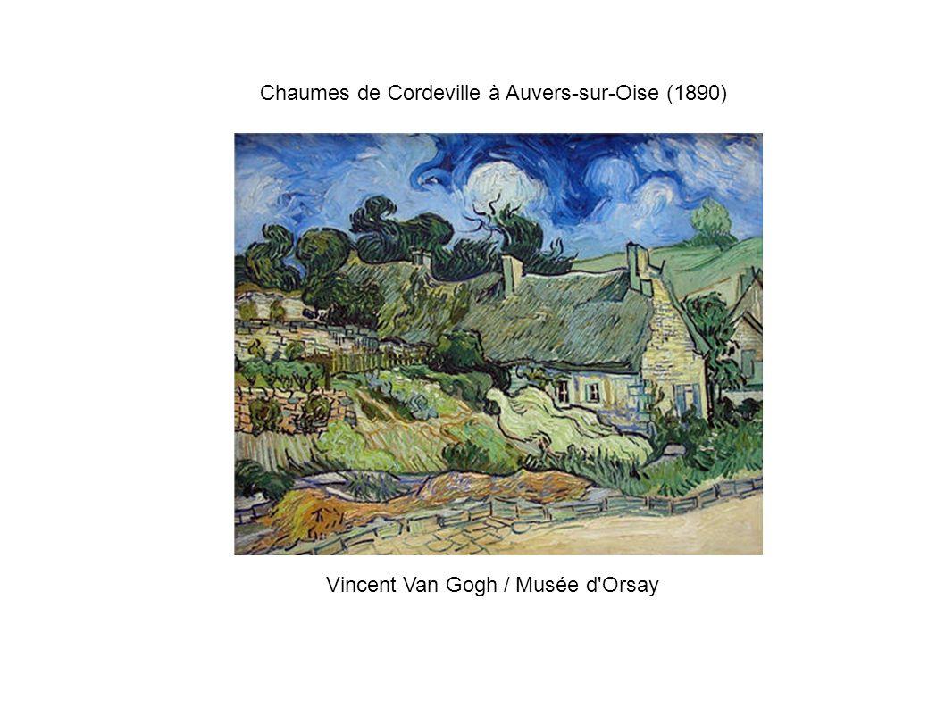 Chaumes de Cordeville à Auvers-sur-Oise (1890) Vincent Van Gogh / Musée d'Orsay