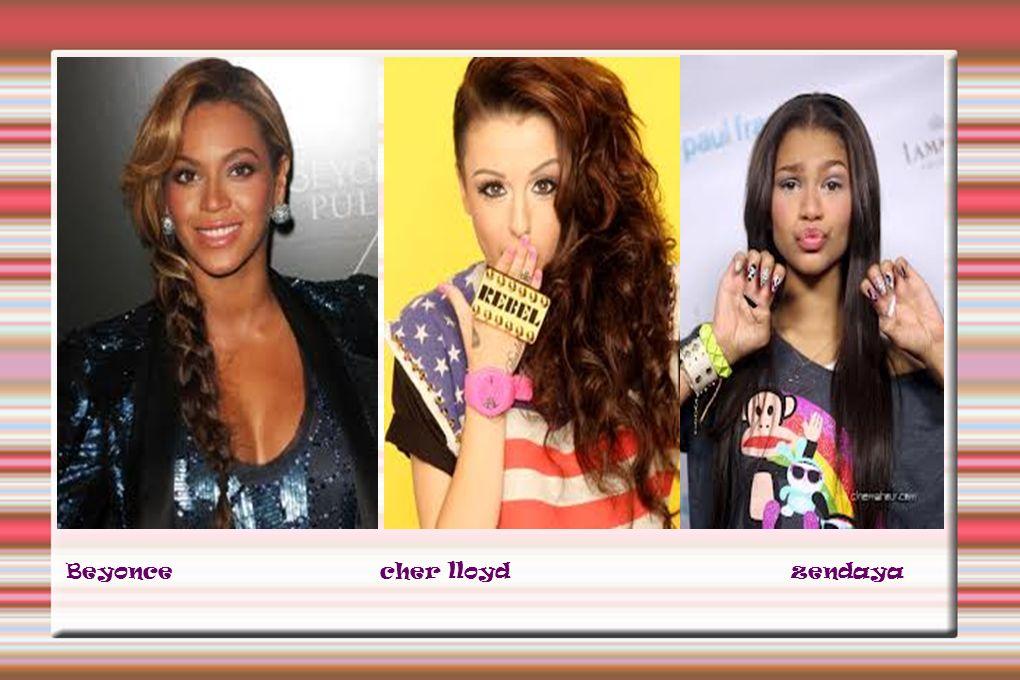 Beyonce cher lloyd zendaya