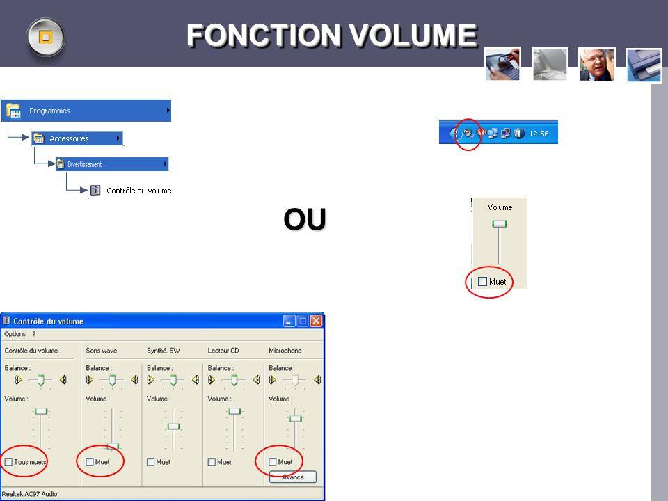 LOGO www.themegallery.com FONCTION VOLUME OU