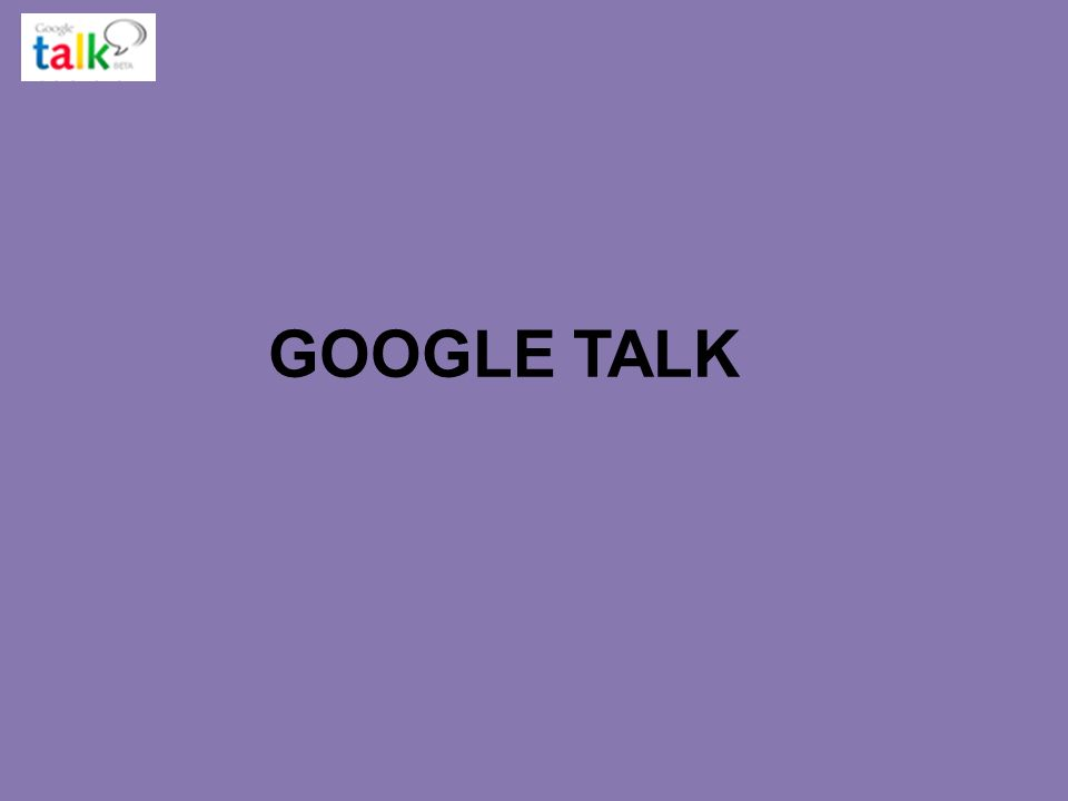 LOGO www.themegallery.com GOOGLE TALK