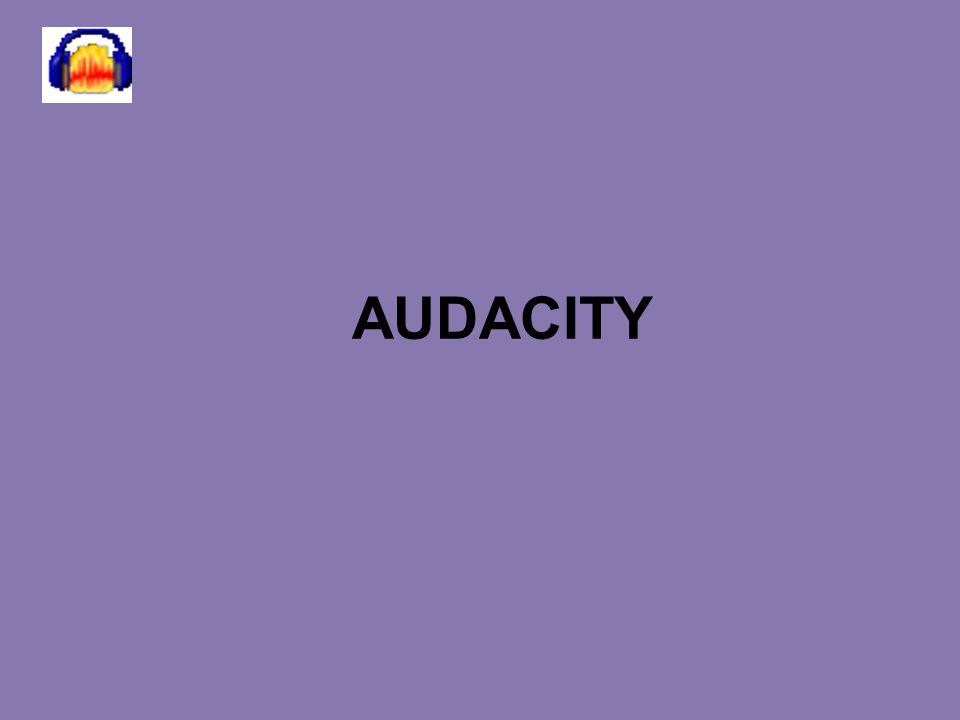 LOGO www.themegallery.com AUDACITYAUDACITY Audacity est un logiciel de traitement sonore gratuit.