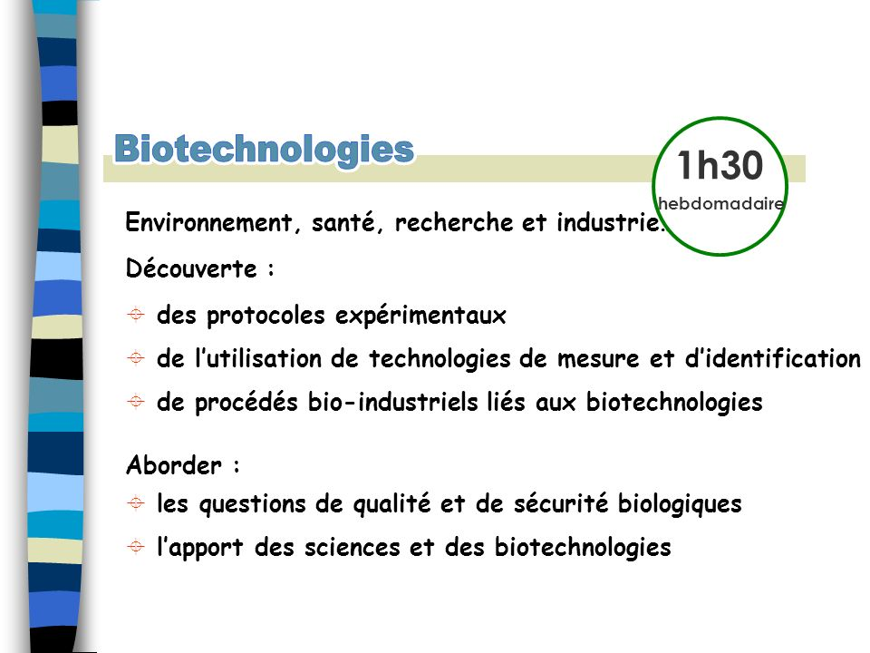 Environnement, santé, recherche et industrie… Découverte : des protocoles expérimentaux de lutilisation de technologies de mesure et didentification d