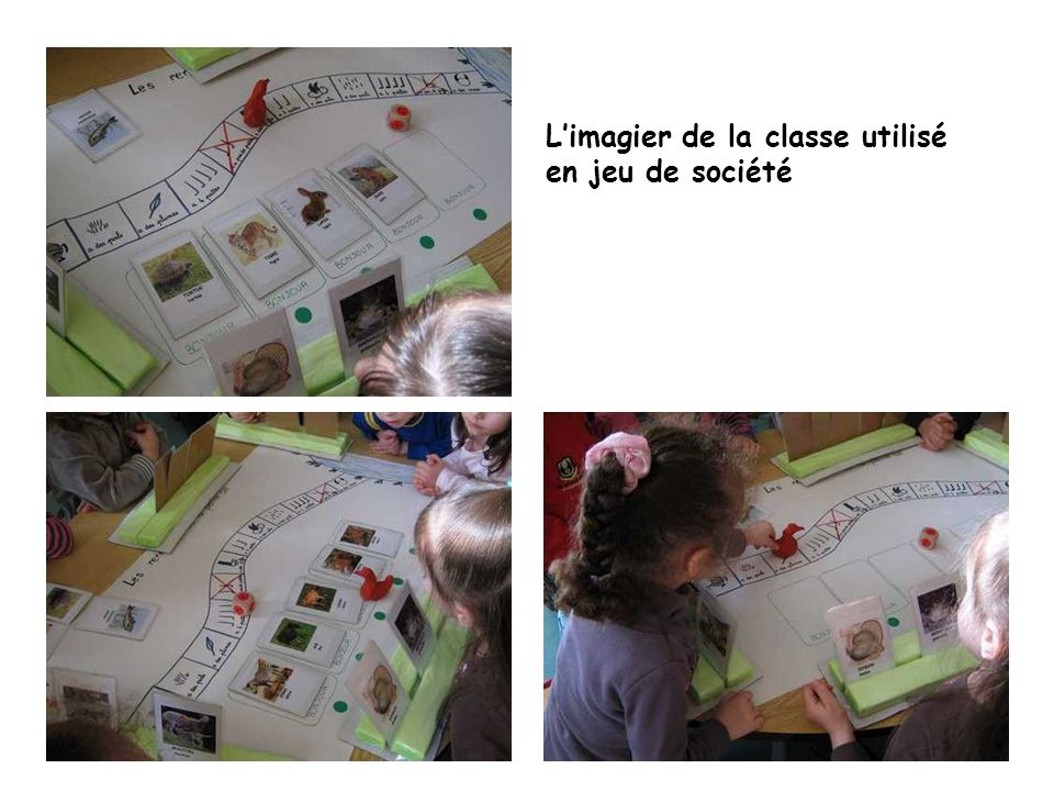 Limagier de la classe utilisé en jeu de société
