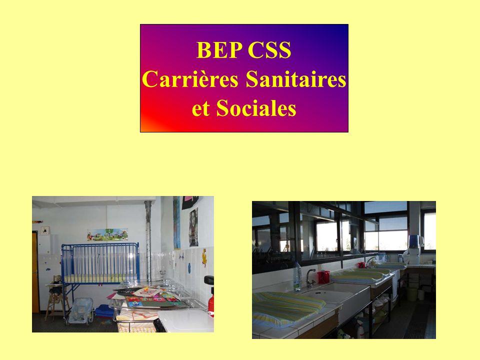 BEP CSS Carrières Sanitaires et Sociales