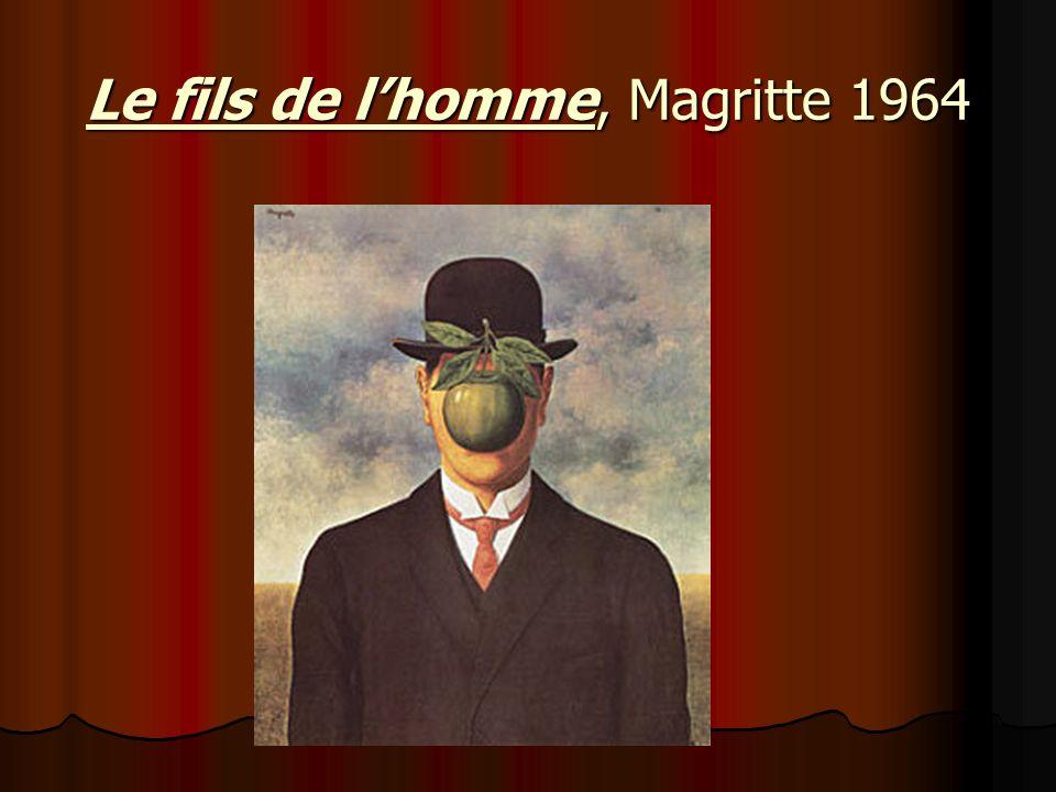 Le fils de lhomme, Magritte 1964